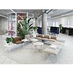 sofa Agora Tkanina: Xtreme Kolor: Xr108, Xr094, Ys071, Ys158  Kolor blatu:  M023 Kolor podstawy:  M016
