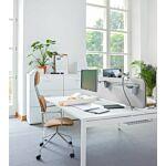 krzesło New School Tkanina:  Alcantara  Kolor: 4180 Kolor podstawy:  0017