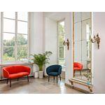 sofa i fotel Grace Tkanina: Blazer, Atlantic Kolor: Cuz39, A67043 Kolor podstawy:  M013